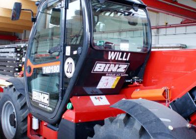 Binz Holzbau - Ellwangen - Stapler - Fahrzeugbeschriftung - 2019 - DSC03614