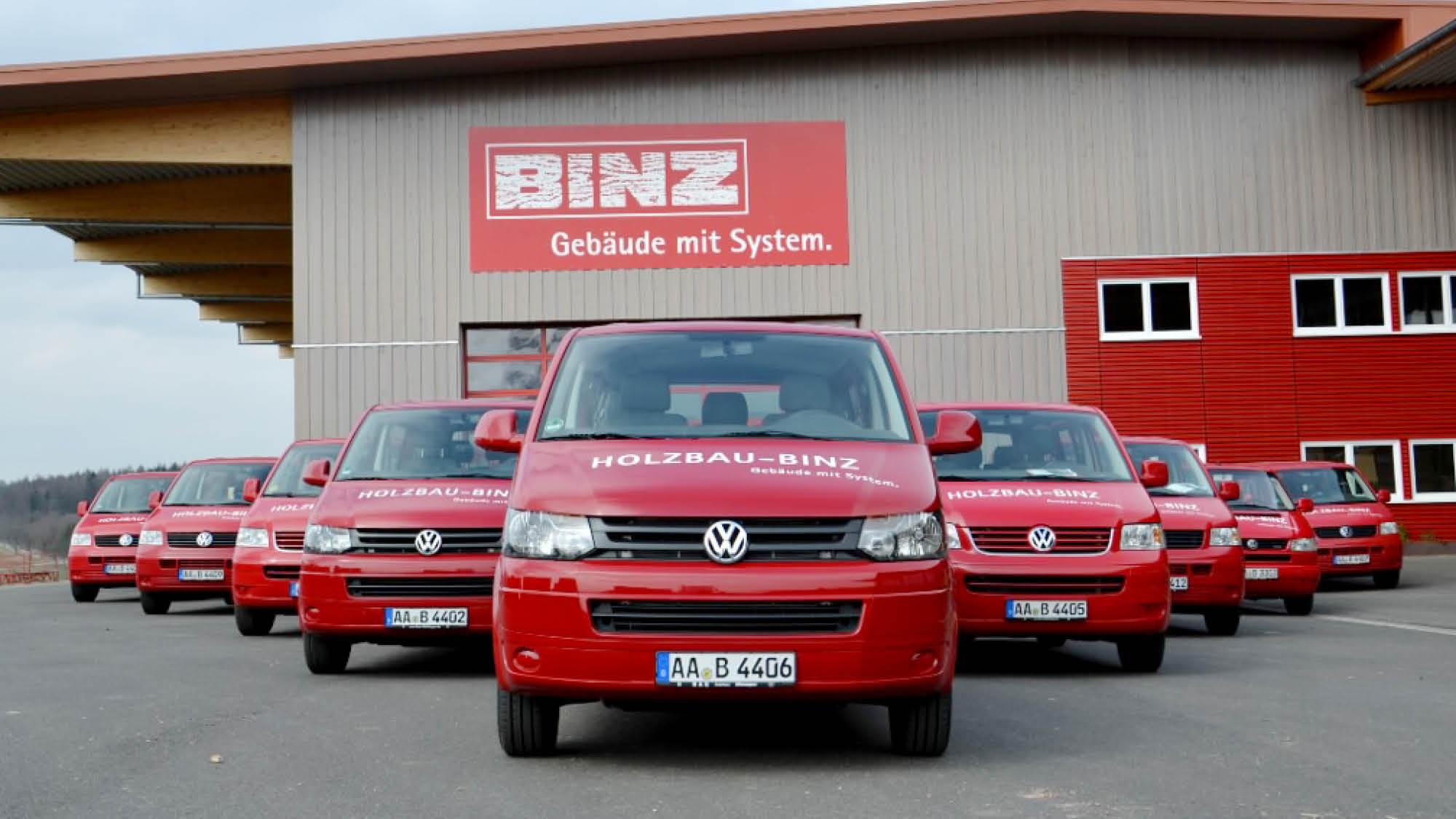 Binz Holzbau - Ellwangen -Transporter - Fahrzeugbeschriftung - 2019 - DSC03614