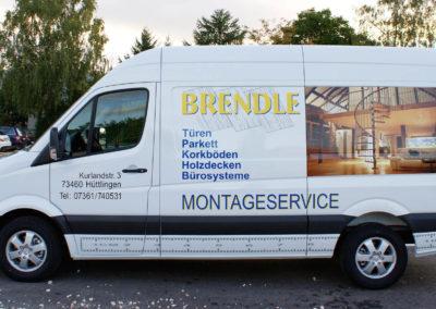 Brendle - Huettlingen - Transporter - Fahrzeugbeschriftung - 2019 - DSC03997