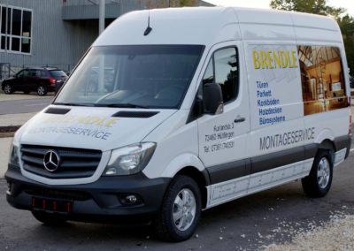 Brendle - Huettlingen - Transporter - Fahrzeugbeschriftung - 2019 - DSC04002
