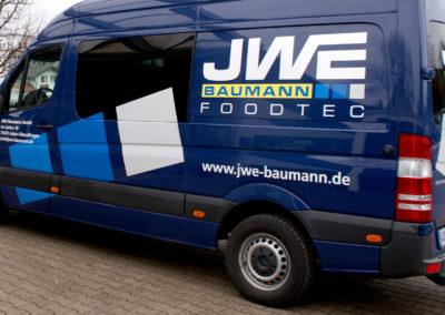 JWE Baumann - Aalen - Transporter - Fahrzeugbeschriftung - 2019 - DSC04078