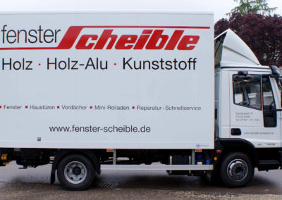Scheible - Aalen - LKW - Fahrzeugbeschriftung - 2019 - DSC03094