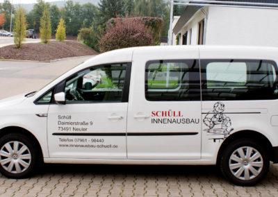 Schuell - Neuler - Lieferwagen - Fahrzeugbeschriftung - 2019 - DSC04005