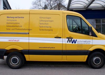 Manfred Wolf GmbH - Aalen - Fahrzeugbeschriftung - 2019 - DSC04052