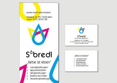 SBredl - Aalen - Flyer - Visitenkarte - Print - 2019