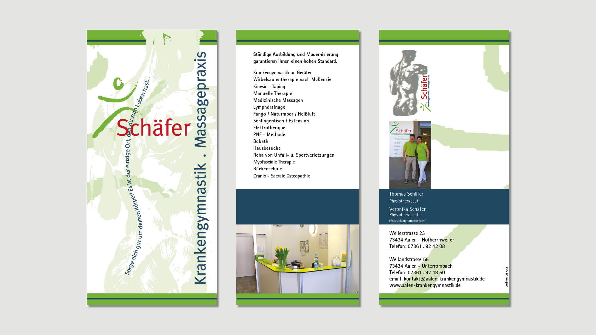 Schaefer - Aalen - Flyer - Print - 2019