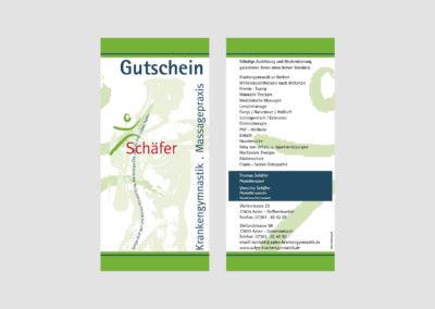 Schaefer - Aalen - Gutschein - Print - 2019