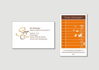 Seeberger - Aalen - Visitenkarte - Print - 2019