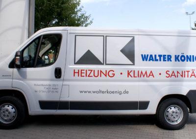 WalterKoenig - Aalen - Transporter - Fahrzeugbeschriftung - 2019 - DSC03957